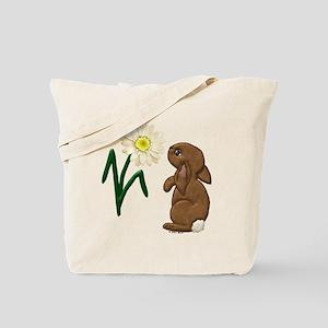 Spring Bunny Tote Bag