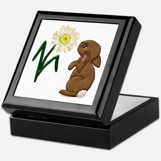 Spring Bunny Keepsake Box