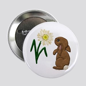Spring Bunny Button