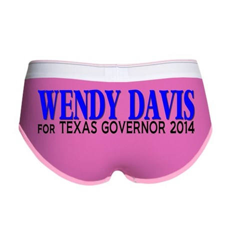 Wendy Davis for Texas Governor 2 Women's Boy Brief
