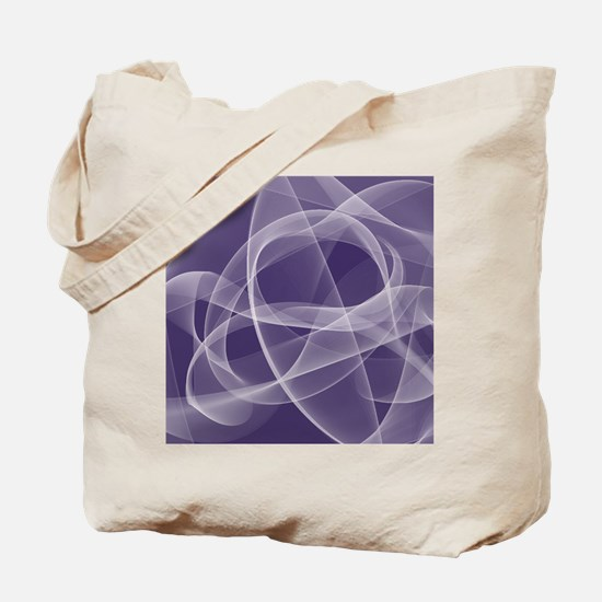fractal-Recovered purple1 Tote Bag