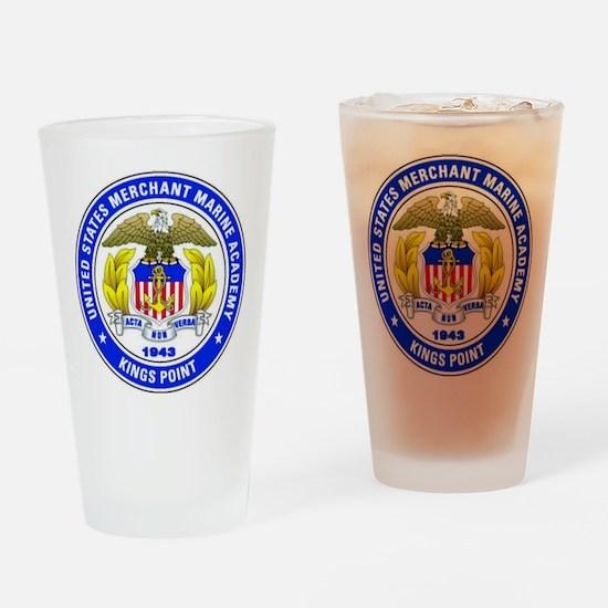 USMMA Drinking Glass