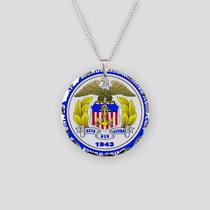 USMMA Necklace Circle Charm