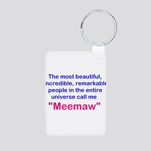 Remarkable Meemaw Keychains