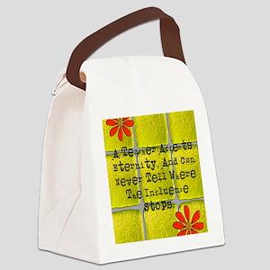 retired teacher tiles blanket 2 Canvas Lunch Bag