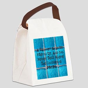 retired teacher tiles blanket Canvas Lunch Bag
