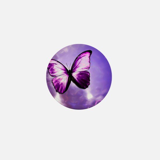 purple majesty Mini Button