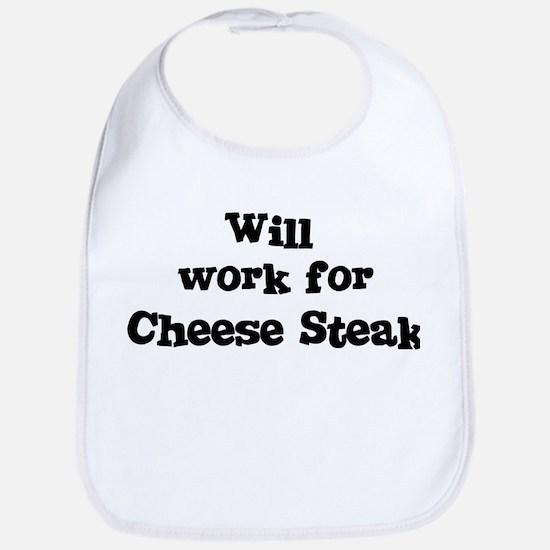 Will work for Cheese Steak Bib