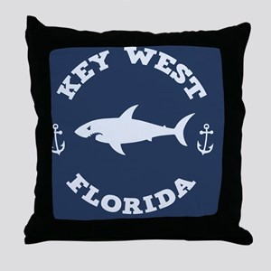 shark-keywest-BUT Throw Pillow