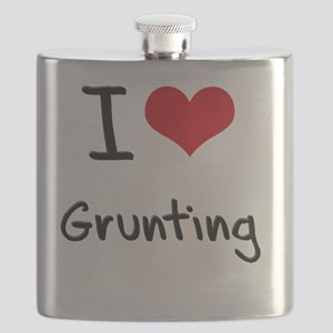 I love Grunting Flask