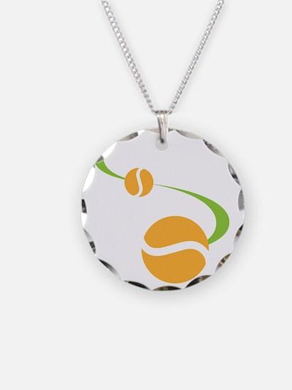 Bouncing Tennis Balls Necklace