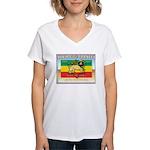 Might of the Trinity Women's V-Neck T-Shirt