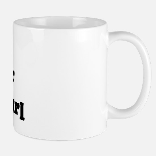 Will work for Cheese Curl Mug