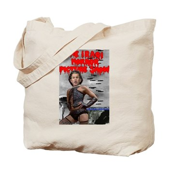 Iraqi Horror Tote Bag
