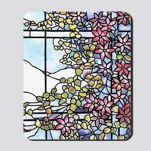 Floral Skylight - Fenway Gate Mousepad