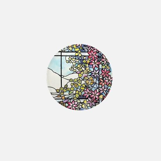 Floral Skylight - Fenway Gate Mini Button
