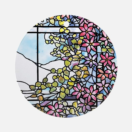 Floral Skylight - Fenway Gate Round Ornament