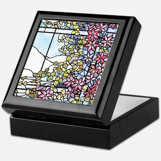 Floral Skylight - Fenway Gate Keepsake Box