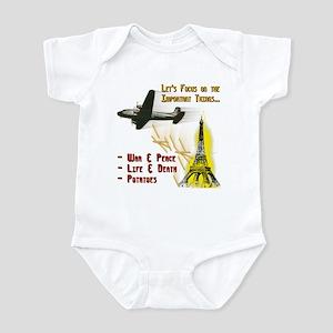 Funny Political Infant Bodysuit