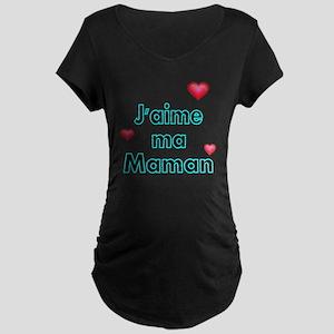 Jaime ma Maman 2 Maternity Dark T-Shirt