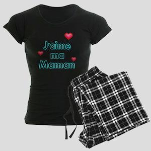 Jaime ma Maman 2 Women's Dark Pajamas