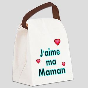 Jaime ma Maman 2 Canvas Lunch Bag