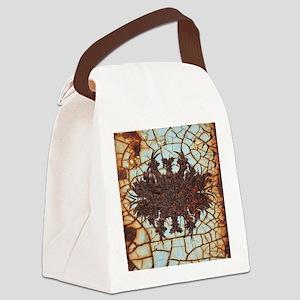 rusty metal Canvas Lunch Bag