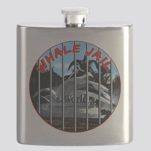 Whale Jail Flask