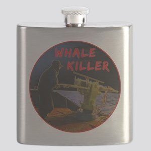 Whale Killer Flask