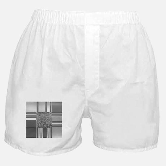 metal art silver Boxer Shorts