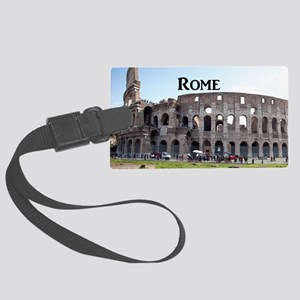 Rome_18.8x12.6_Colosseum Large Luggage Tag