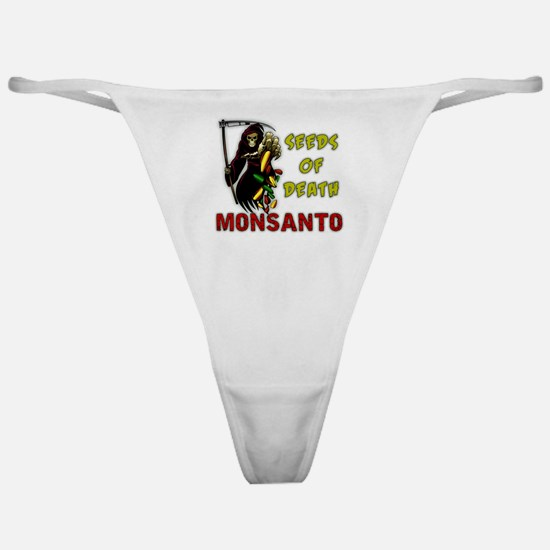 Seeds of Death - Monsanto Classic Thong