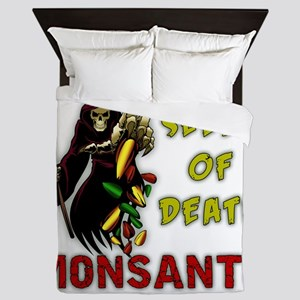 Seeds of Death - Monsanto Queen Duvet