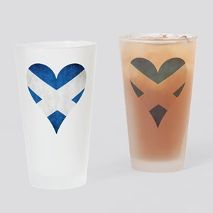 Scotland heart Drinking Glass