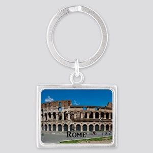 Rome_17.44x11.56_LargeServingTr Landscape Keychain