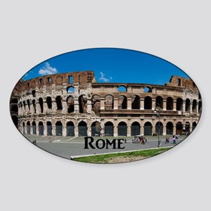 Rome_17.44x11.56_LargeServingTray Sticker (Oval)