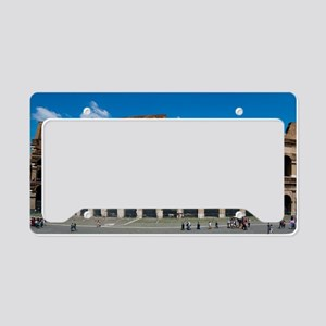 Rome_12.2x6.64_Colosseum License Plate Holder