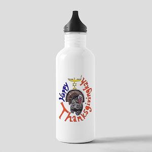 Happy Thanksgivingkah Water Bottle