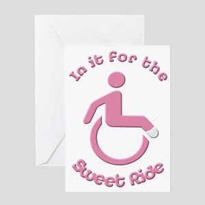 In it for the Sweet Ride Greeting Card