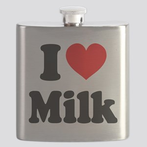 I Heart Milk Flask