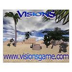 Visions Small Poster