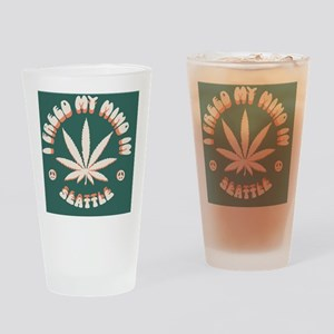 weed-seattle-BUT Drinking Glass