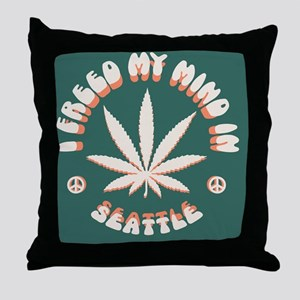 weed-seattle-BUT Throw Pillow