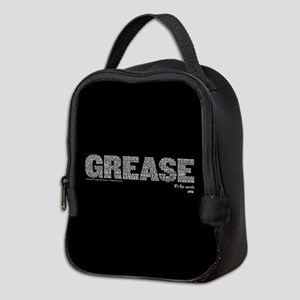 Grease It's The Words Neoprene Lunch Bag