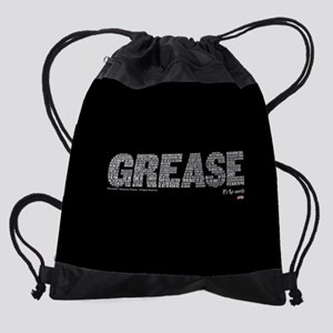 Grease It's The Words Drawstring Bag