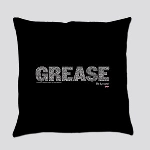 Grease It's The Words Everyday Pillow