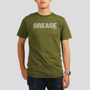 Grease It's The Words Organic Men's T-Shirt (dark)