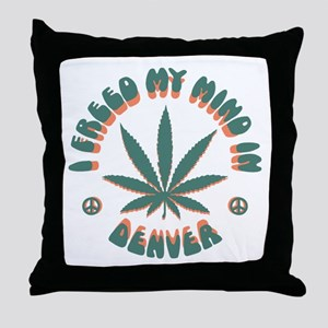 weed-denver-LTT Throw Pillow