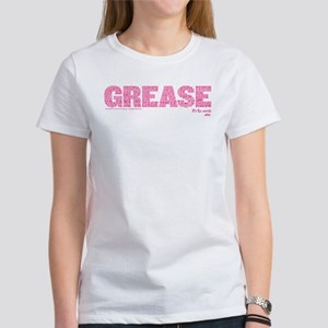 Grease It's The Word Women's Classic White T-Shirt