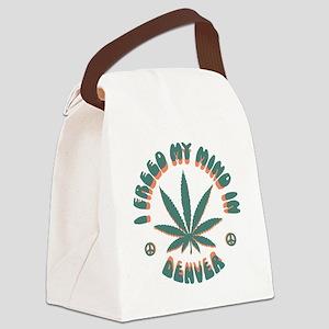weed-denver-LTT Canvas Lunch Bag